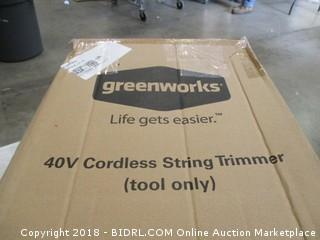 40V Cordless String Trimmer