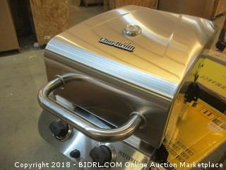 Char-Broil Performance 475 4-Burner Cabinet Liquid Propane Gas Grill- Stainless (Retail $335.00) - Possible Missing Parts
