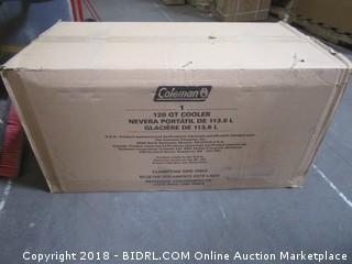 Coleman Coastal Xtreme Series Marine Portable Cooler, 120 Quart (Retail $63.00)