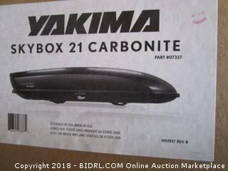 Yakima Skybox 21 Carbonite Cargo Box