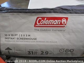 Coleman Instant setup