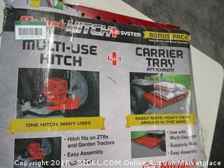 Hitch System  Carrier Tray Attachment
