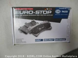 Power Stop Euro Stop Brake System