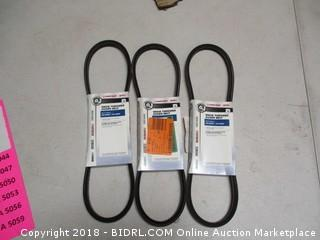 Snow Thrower Auger Belts