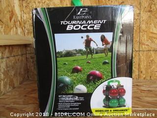 Tournament Bocce