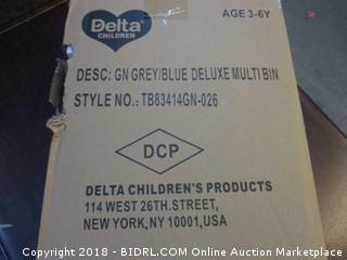 Grey/Blue Deluxe Multi Bin