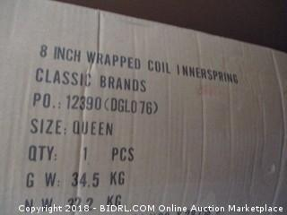 8 inch wrapper Coil Innerspring