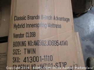 Twin 8 inch Advantage Hybrid Innerspring mattress