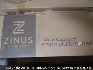 Zinus 14 inch Quick Lick Smart Platform bed