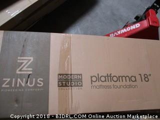 "Zinus Platform 18"" Mattress foundation"