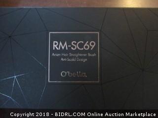 RM-SC69 Anion Hair Straightener Brush