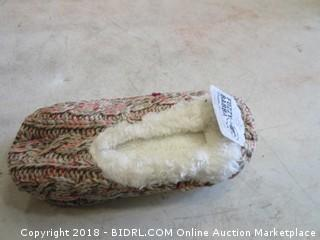 Ladies Slipper Socks Size M