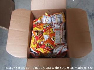 Hot Cheetos Puffs Box of 88