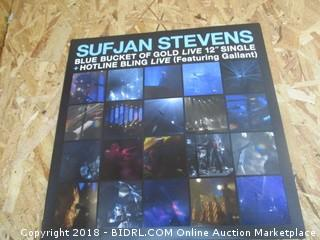 Sufjan Stevens Blue Bucket of Gold Live Record