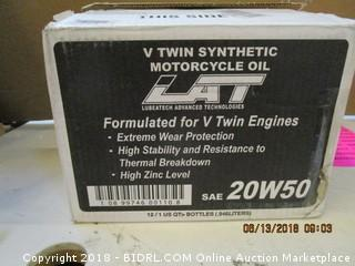 Formulated for V Twin Engine Motorcycle Oil