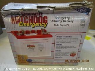 Watchdog Emergency Standby Battery
