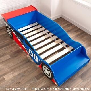 KidKraft Race Car Toddler Bed (Retail $126.00)