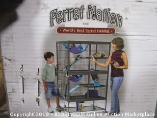 MidWest Homes for Pets Ferret Nation | Deluxe Ferret Nation Cage & Ferret Playpen (Retail $239.00)