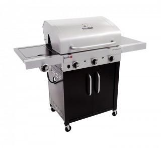 Char-Broil Performance TRU-Infrared 450 3-Burner Cabinet Liquid Propane Gas Grill (Retail $327.00)
