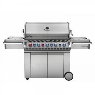 Napoleon s Prestige PRO 665 with Infrared Rear and Side Burner Stainless Steel Propane Gas (Retail $2,999.00)