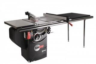 SawStop PCS31230-TGP252 3-HP Professional Cabinet Saw Assembly with 52-Inch Professional T-Glide Fence System, Rails and Extension Table (Retail $3,249.00)