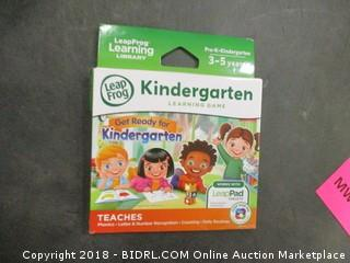 Kindergarten Learning Game