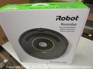 Roomba Vacuuming Robot 652
