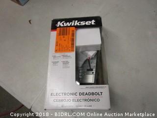 Kwiksets Electronic Deadbolt