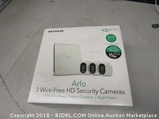 Netgear Arlo 3 Wire Free HD Security Cameras