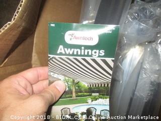 Awntech 10-Feet Charleston Window/Entry Awning