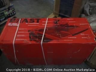 """Lackmond Beast Wet Tile Saw - 10"""" Portable Jobsite Cutting Tool with 15 AMP Motor & Up to 1-7/8"""" Depth of cut at 45° - BEAST10 (Retail $899.00)"""