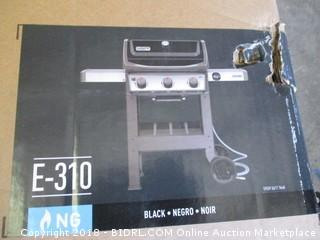 Weber 49010001 Spirit II E-310 Gas Grill NG Outdoor, Black (Retail $499.00)