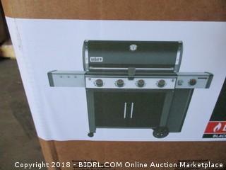 Weber 62014001 Genesis II LX E-440 Liquid Propane Grill, Black (Retail $1,499.00)