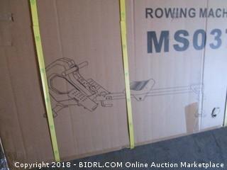 Merax Magnetic Rower Folding Exercise Rowing Machine w/Digital Monitor (Retail $219.00)