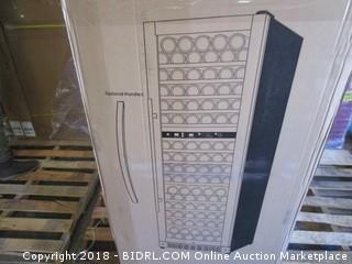 Allavino FlexCount VSWR172-2BWLN 172 Bottle Dual-Zone Wine Cellar Refrigerator Black Door Left Hinge (Retail $1,649.00)
