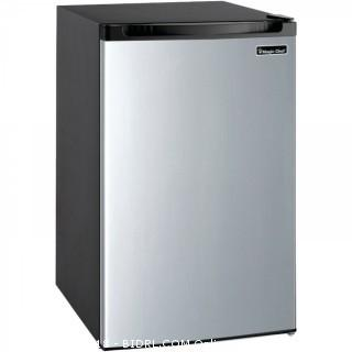 Magic Chef MCBR440S2 Refrigerator, 4.4 cu. ft, Stainless Steel (Retail $188.00)