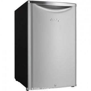 Danby DAR044A6DDB 4.4 cu.ft. Contemporary Classic Compact All Refrigerator, Iridium Silver Steel (Retail $267.00)