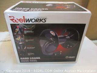 Reelworks Hand Crank Hose Reel
