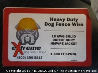 Heavy Duty Dig Fence Wire