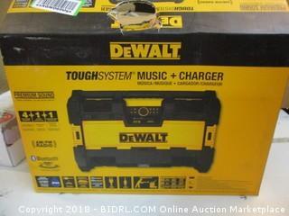 DeWalt Tough System Music + Charger