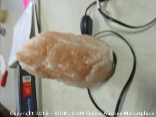 Salt Crystal Lamp