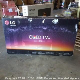 """LG OLED TV 65"""" Cracked Screen"""