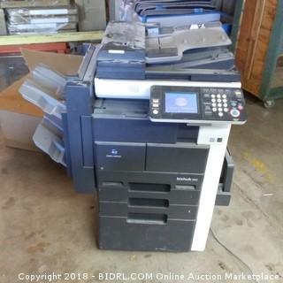 Konica Minolta  Printer Powers On