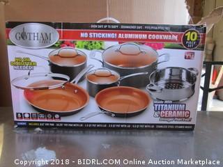 Titanium and Ceramic Cookware