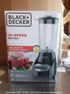 Black Decker Blender