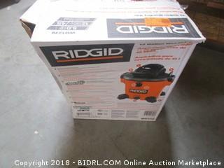 Ridgid Ridgid  Wet/Dry Vac Powers On