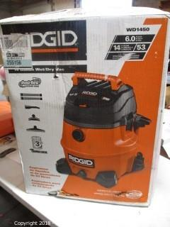 Ridgid Wet Dry Vac / Missing Part See Pictures