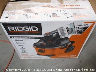 Ridgid Portable We/Dry Vac