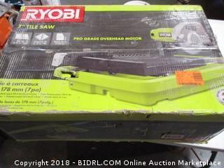 Ryobi Tile Saw/ Missing part