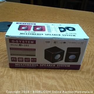 G-System Multimedia Speaker System